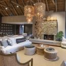 Dulini River Lodge main lodge lounge