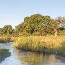 Dulini River Lodge river pano
